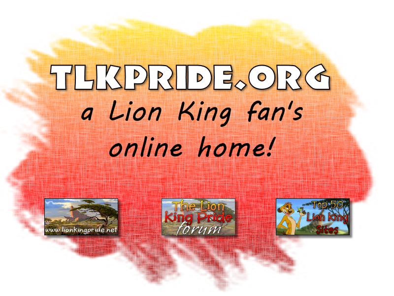 The Lion King Pride footer